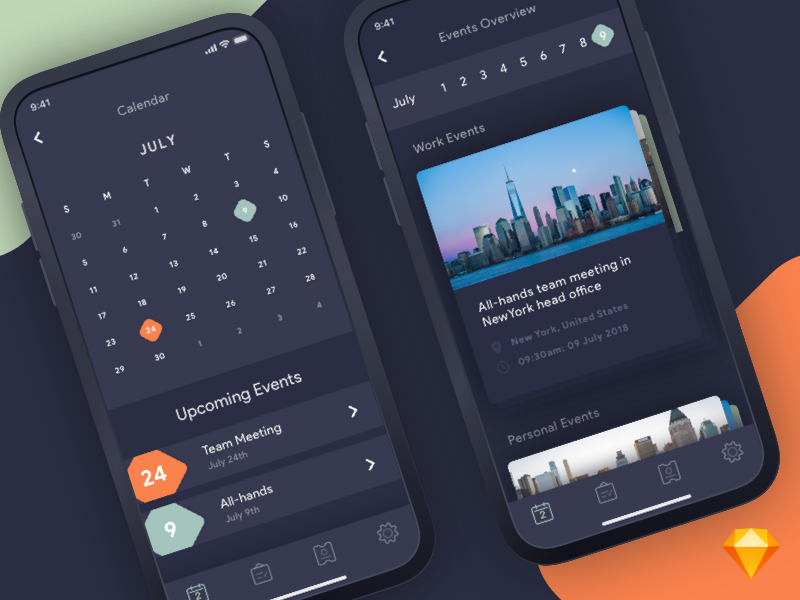 Calendar App preview picture