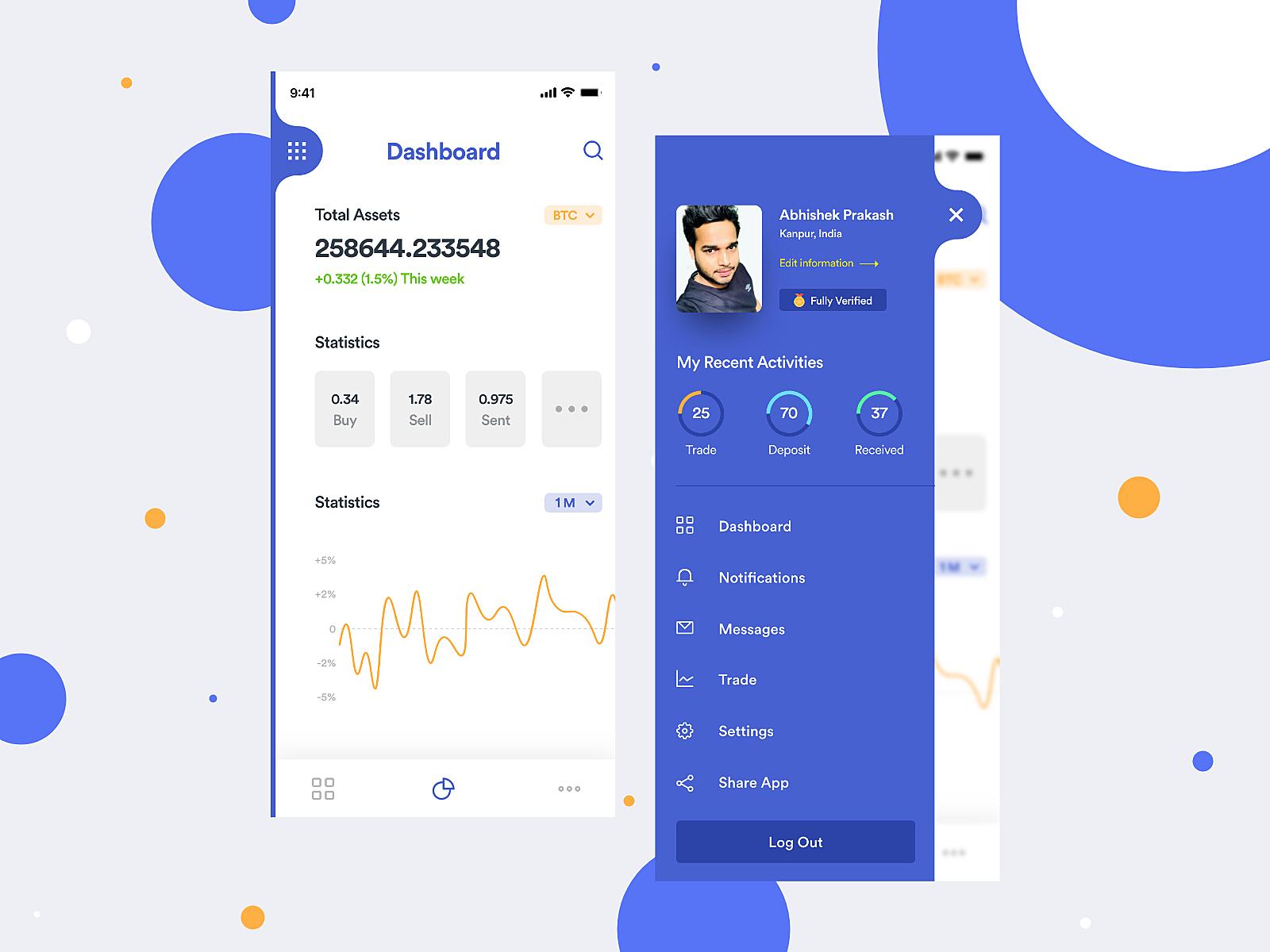 Crypto Trading Mobile App