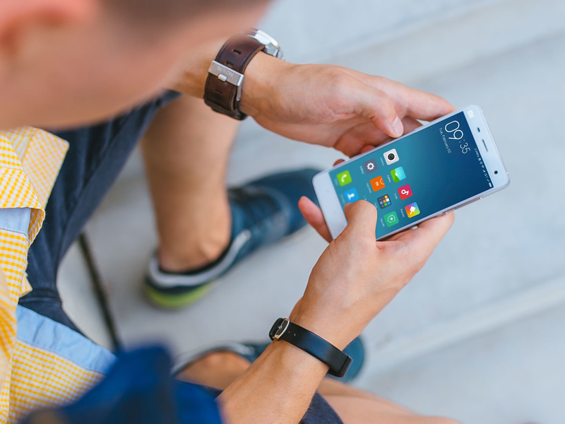 Xiaomi Mi5 mockup template