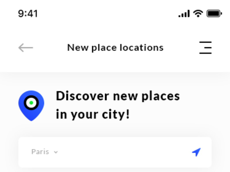 New Place Locations & Details Bar Review