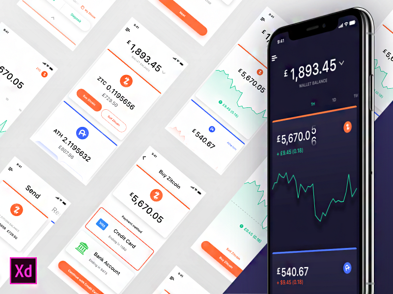 Cooin Crypto UI Kit preview picture