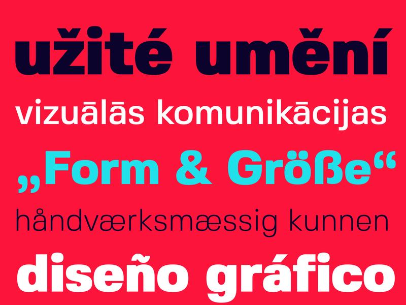 Fivo Sans – Free Font Family