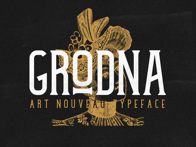 Grodna Typeface preview picture