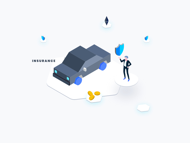 Car Insurance Isometric Graphic preview picture