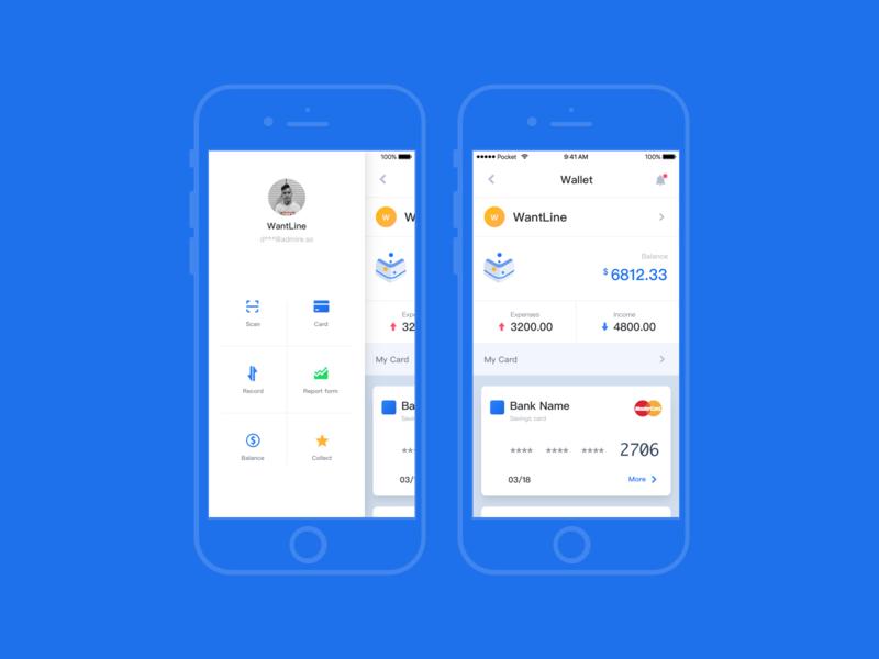 Pocket UI Kit Fintech App
