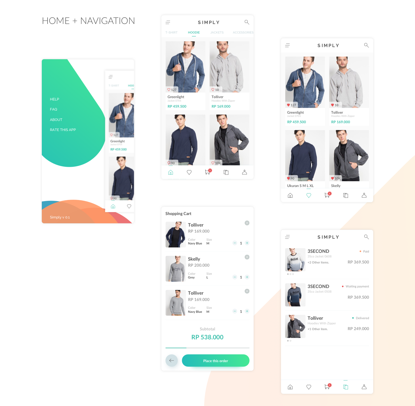 Simply Ecommerce UI Kit