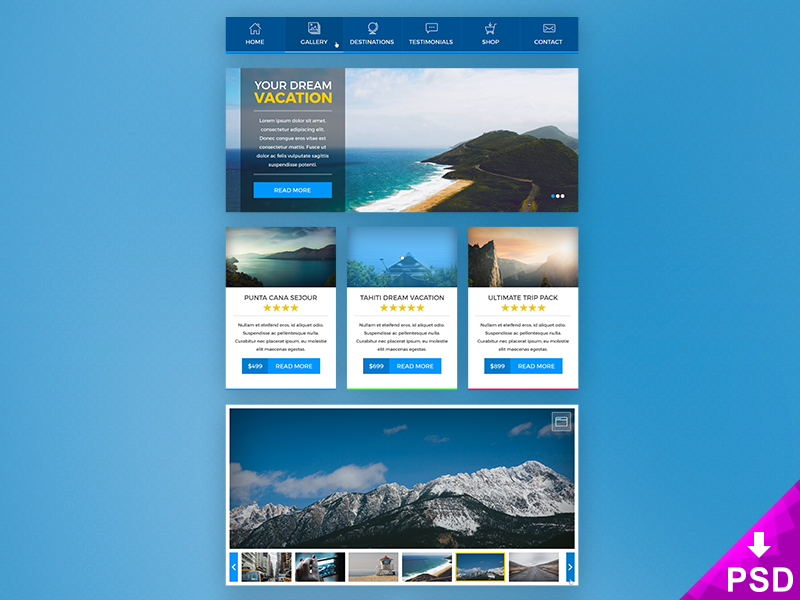 Booking UI Kit preview picture