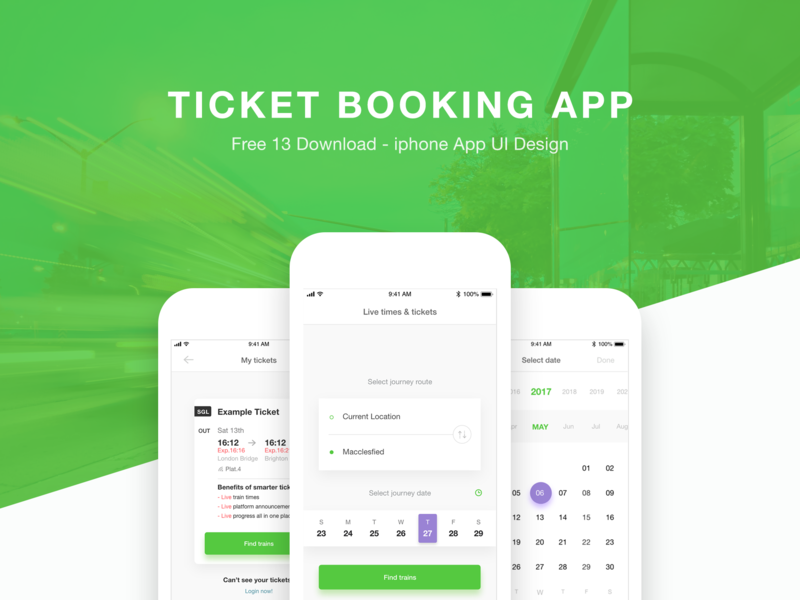 Ticket Booking App preview picture