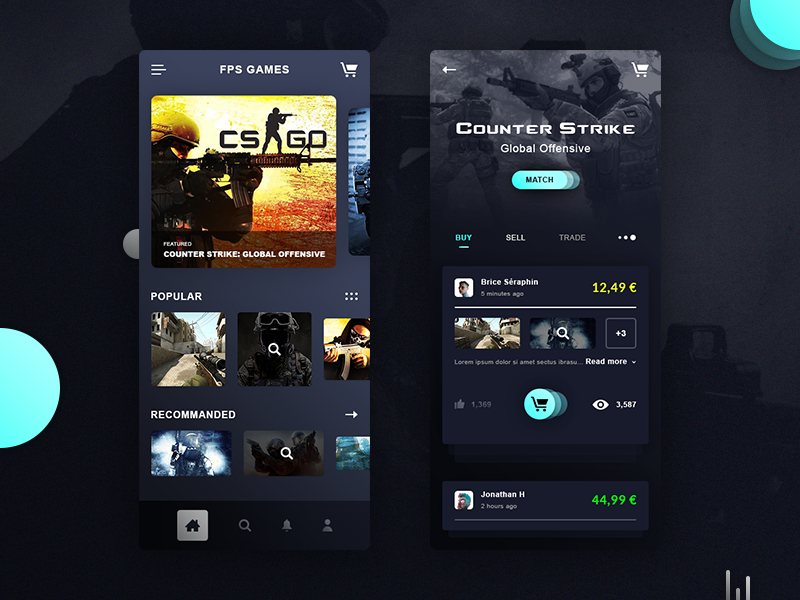 CS:GO Games App preview picture