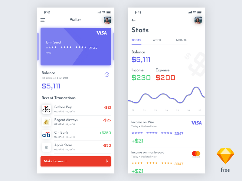 Finance App Exploration preview picture