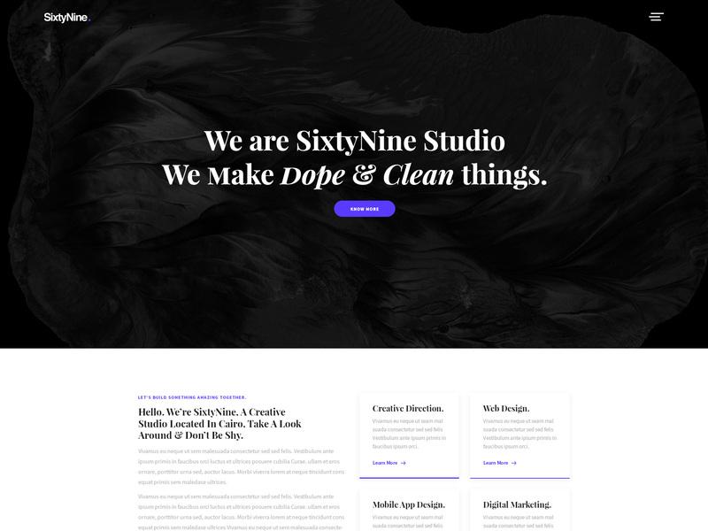 SixtyNine Agency - Free [PSD]