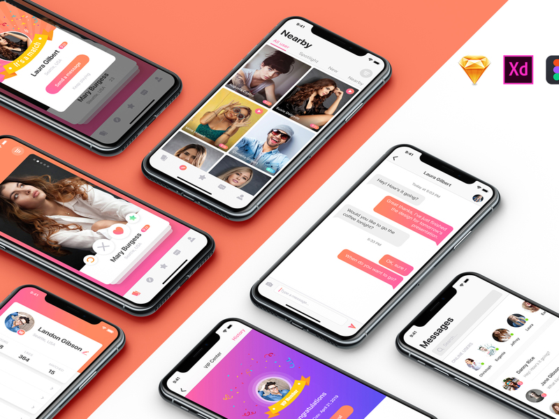MIGO Dating UI Kit preview picture