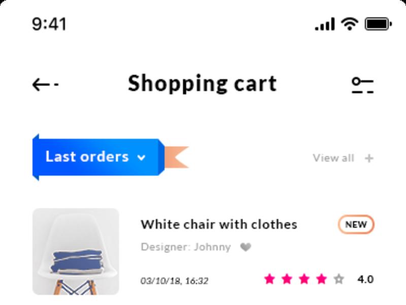 Shopping Cart - iOS App