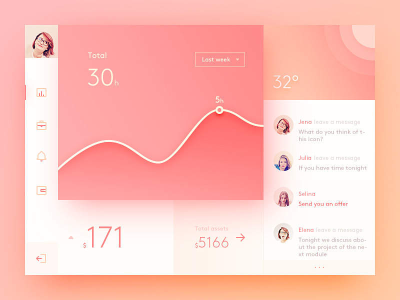 Inspirational UI Elements [PSD] preview picture