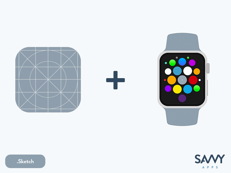 The Ultimate Sketch iOS App Icon Template