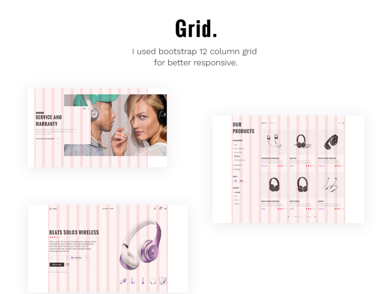Global Store - E-commerce UI KIT