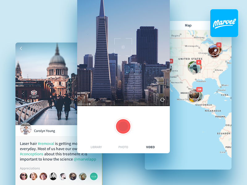 Snap - Free UI Kit [Sketch] preview picture