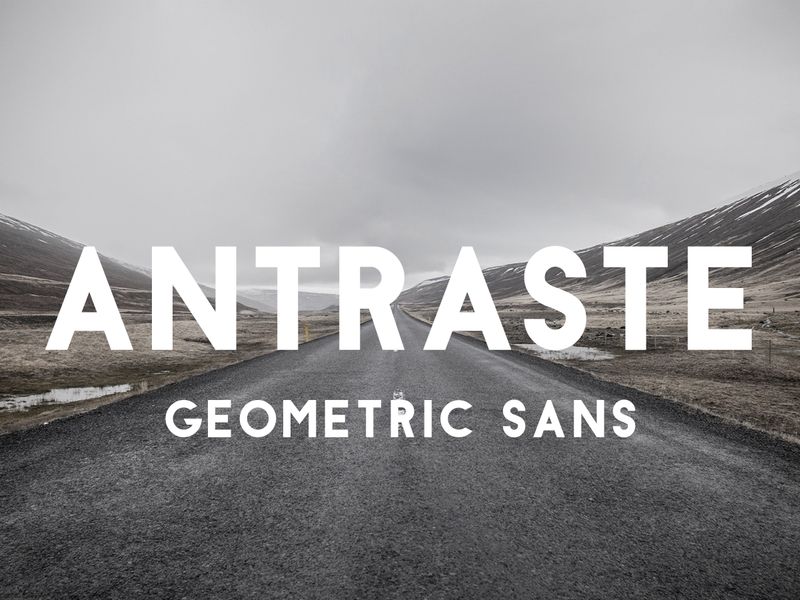 Antraste font preview picture