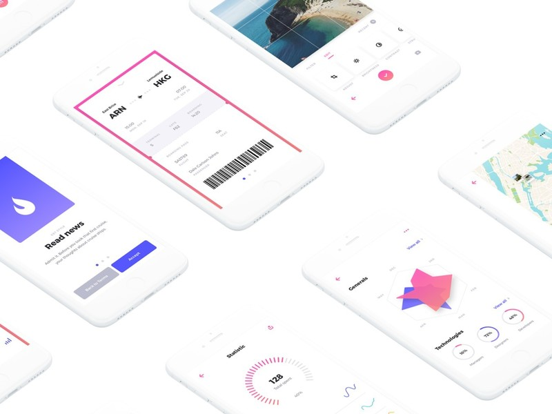 Rodman Mobile UI Kit