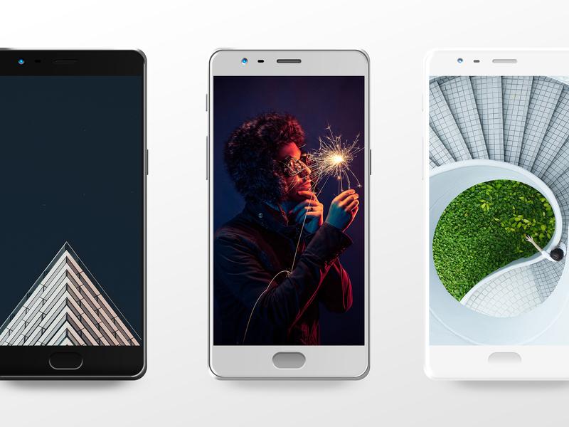 Smartphone Mockups Freebie