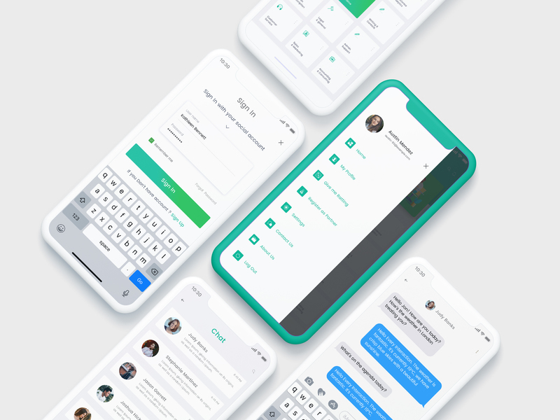 Madbrains mobile app design kit