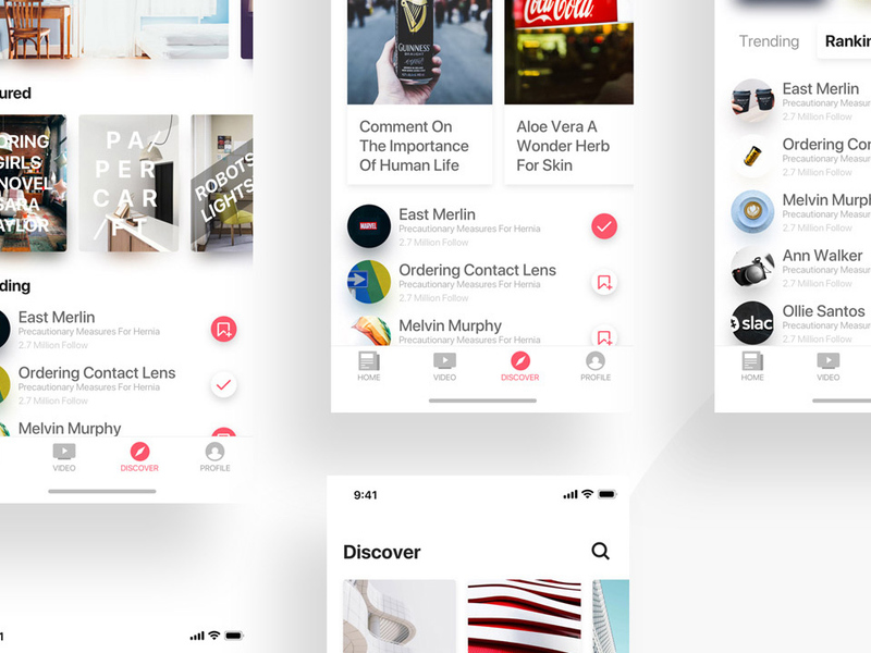 News APP UI Kit