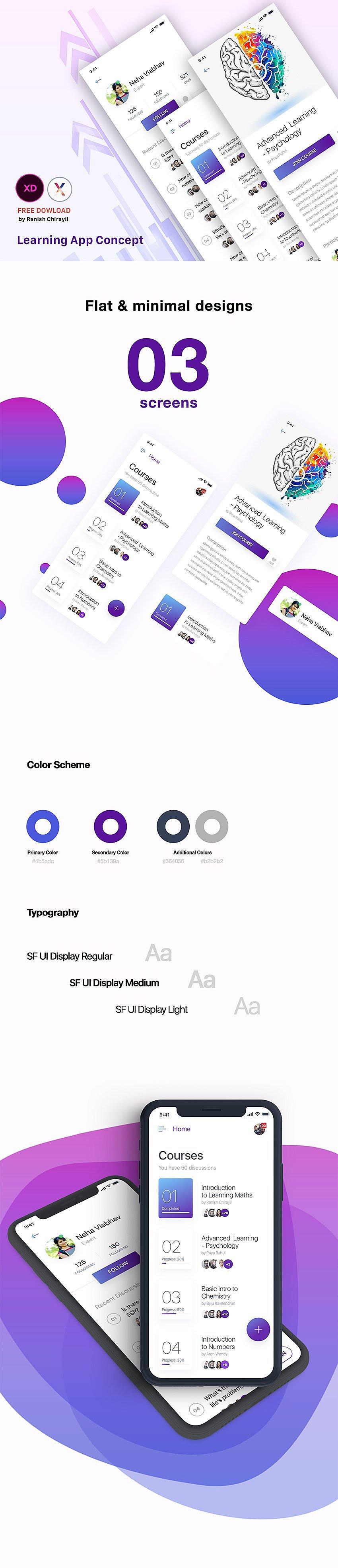 Learning App Design