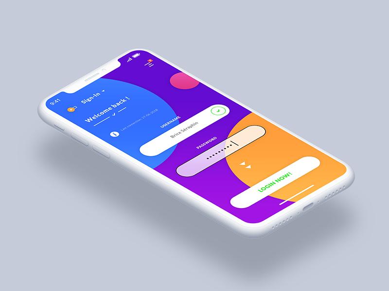 Login - Sign In iOS App