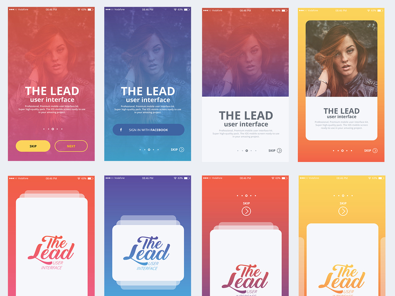 THE LEAD User Interface