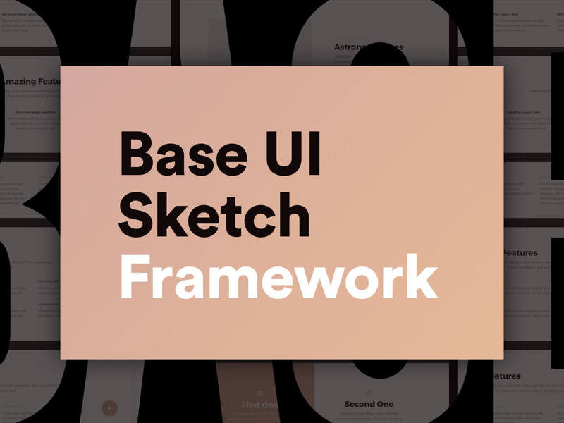 Base UI Sketch Framework preview picture