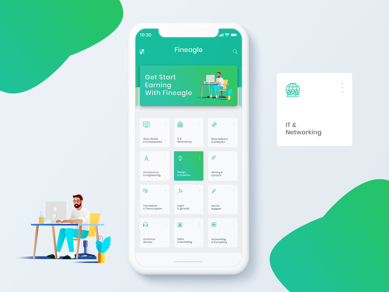 Madbrains mobile app design kit preview picture