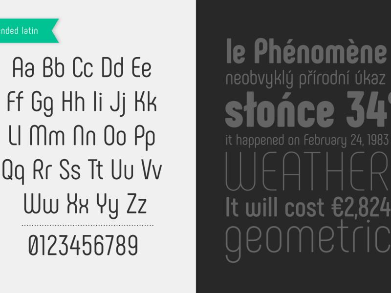 Phenomena: A free font family