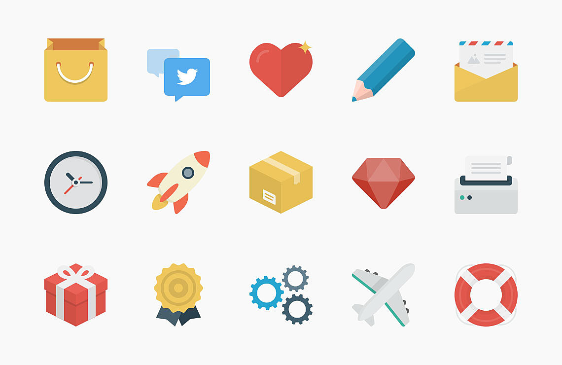 Freebie: Flato vector icons set