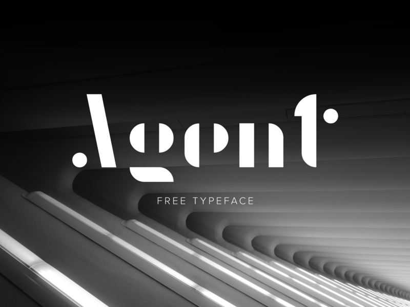 Agent | Free Font preview picture