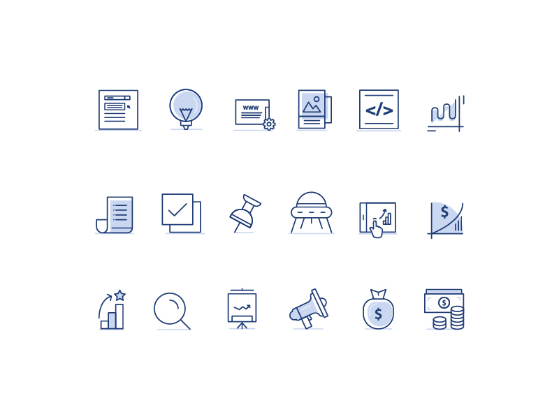 Marketing Icons Pack