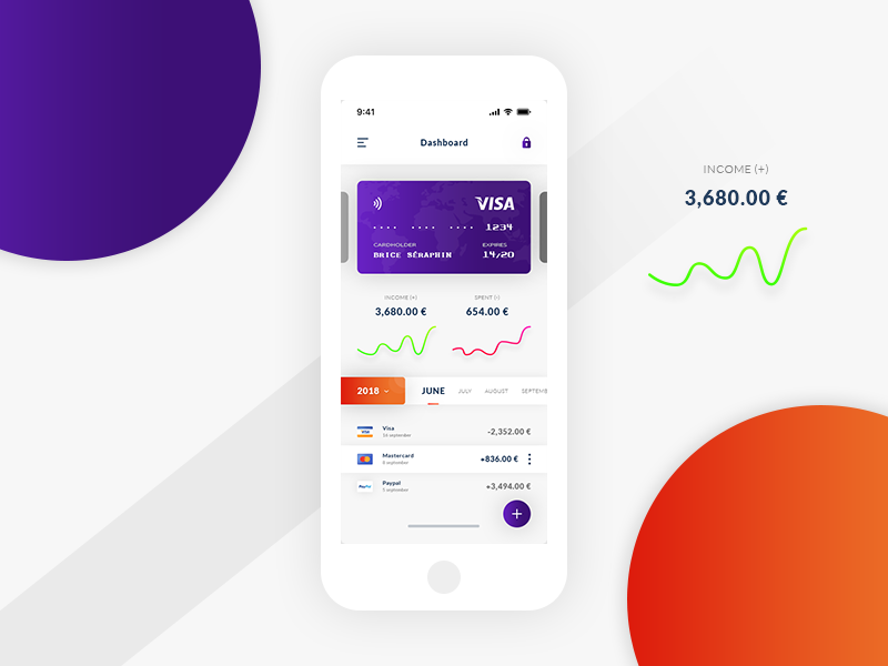 Dashboard Payment UIX