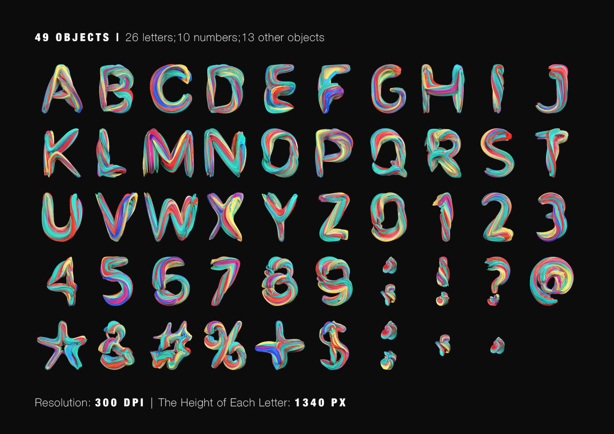 Acrylic Free Typography