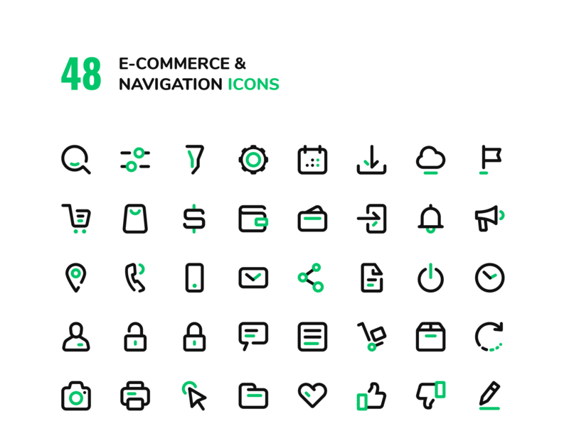 E-CONS Icons set