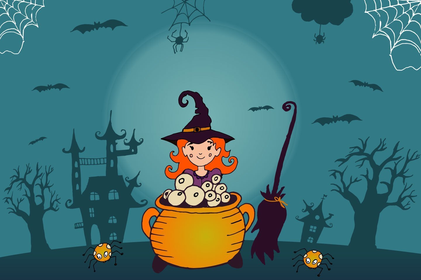 Trick Or Treat Free Vector Illustration