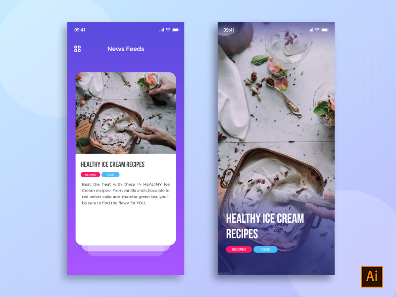 News Feed App (AI Freebie) preview picture