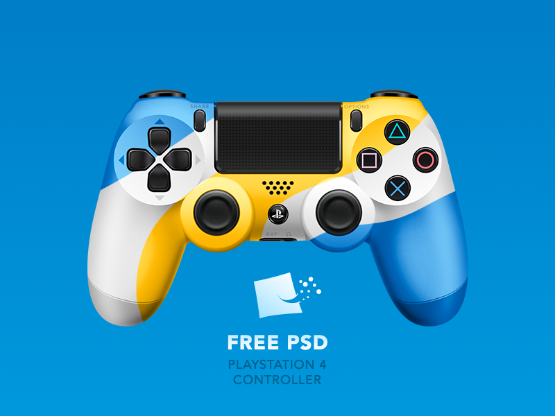 Dualshock 4 [ FREE PSD] preview picture