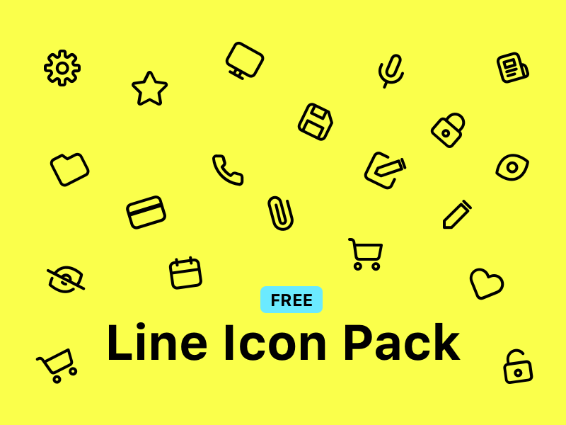 Line Icons Pack preview picture