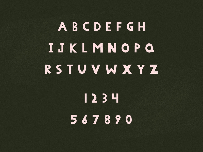 Peenu - Hand Knitted Typeface