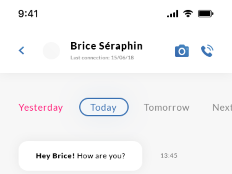 Chat IOS UI