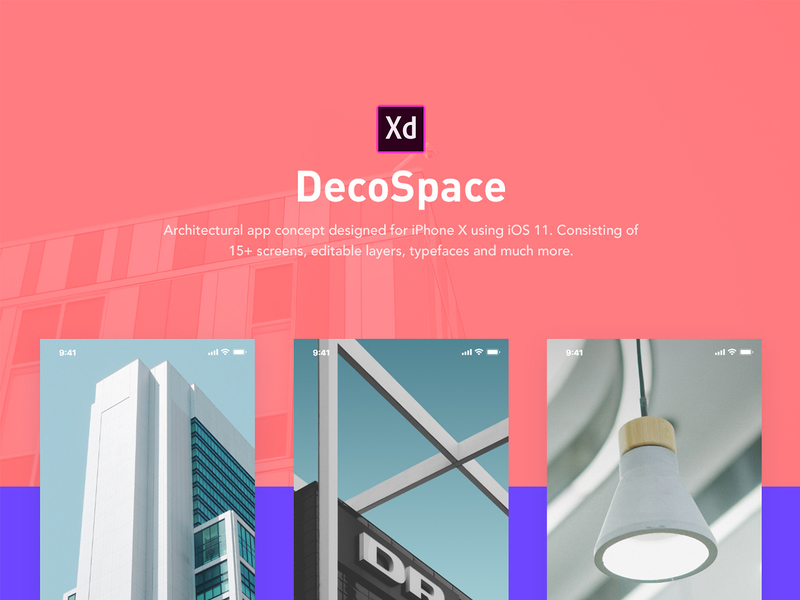 DecoSpace UI Kit preview picture