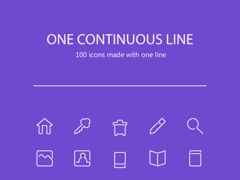 Line Icons [AI, PNG] preview picture