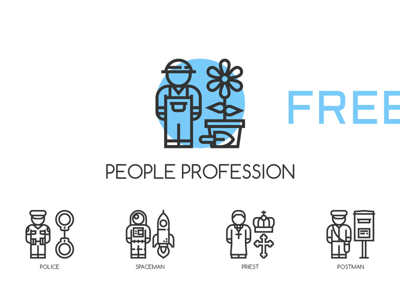 Profession Icons preview picture