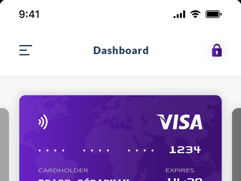 Dashboard Payment UIX