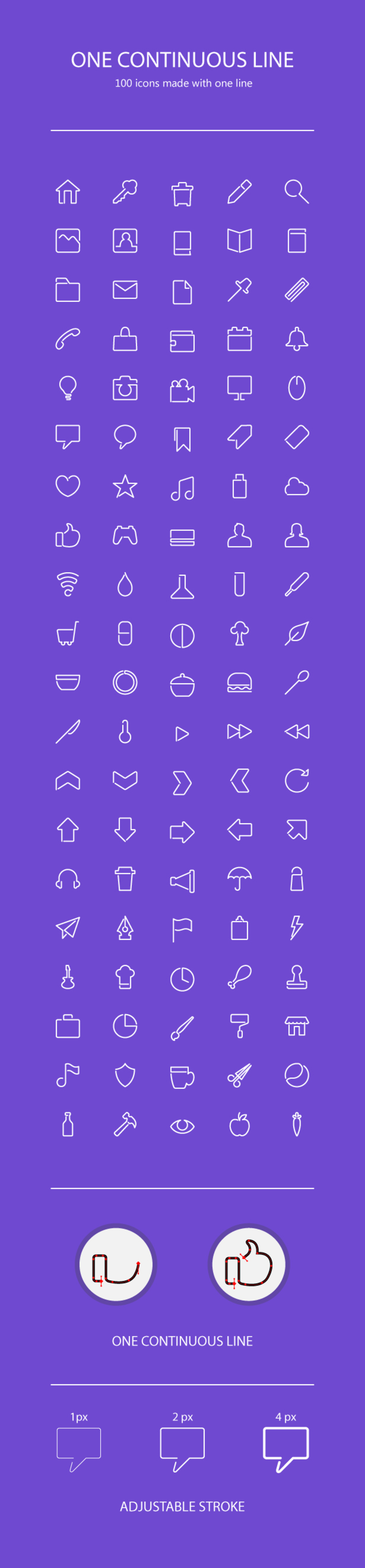 Line Icons [AI, PNG]