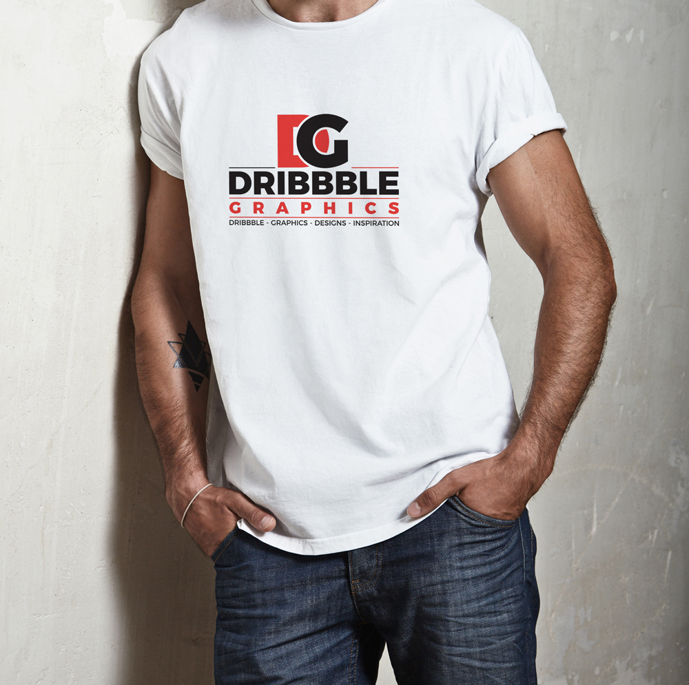 T-Shirt MockUp For Logo Branding